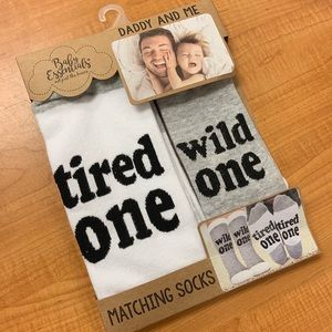 Other - Daddy & Me Socks
